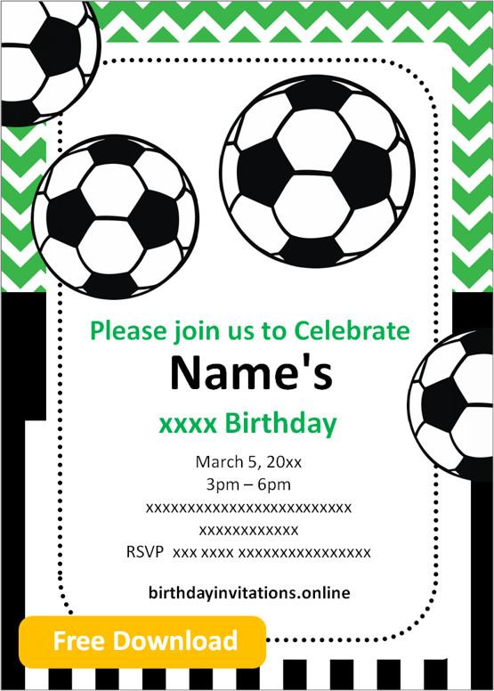 editable birthday invitations templates free
